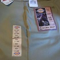 Nwt Khaki Color Dickies Work Pants - Mens Size 38x34 - Tags  Photo
