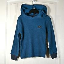 Nwt Kids Youth Boys Billabong Keystone Blue Hoodie Pullover Jacket Sz 2t 4/s Photo