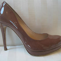 Nwt L K Bennett Sledge Pump Dk Nude Heels Kate Middleton Favorite 345 Size 40 Photo