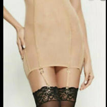 Nwt La Perla Nude Boned Corset Skirt Girdle Swarovski Elements It Size 1 Small Photo