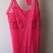 Nwt Lace 2 Pc Gilligan & Omalley Sleepwear Chemise Babydoll Nightgown Pink Blush Photo