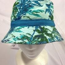 Nwt Lacoste Kids/children Tropical Bucket Hat Size 2/5 Years or 6/9 Years. Photo