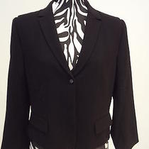 nwt.ladies' Elie Tahari Black Color Sisi Jacket(lists at Tag)14 Photo