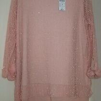 Nwt Ladies Size 16 Blush Pink Long Dressy Tunic Top Photo