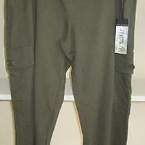 Nwt Ladies Size Lge Live Life by Sanctuary Olive Pull on Pants Olive Msrp 44.00 Photo