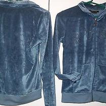 Nwt Ladies Size Medium Bcbg Max Azria Track Jacket Graphite  Photo