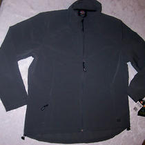 Nwt Ladies Xl Dickies Softshell Stretch Work Jacket Gray  Exceptional 96 Photo