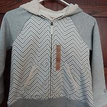 Nwt - Lands' End Girls Sherpa Hoodie - Adorable Size L 6x/7 Msrp 45 Photo