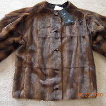 Nwt Lanvin Runway Brown Weasel Fur Jacket Coat 17k  Make an Offermust See Photo