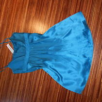 Nwt Laundry by Design Turquoise Blue Mini Dress Size 0 245 Xs Photo