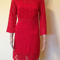 Nwt Laundry Red Dress Size 8 Photo