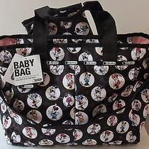 Nwt Le Sportsac Disney Celebrate Minnie Ryan Baby Bag 7532-P475 Photo