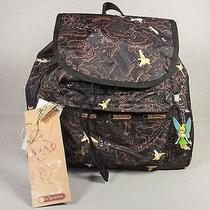 Nwt Le Sportsac Disney Tink Never Land Small Edie Backpack 2420-K131 Photo