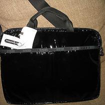 Nwt Lesportsac 13inch Laptop Bag Black Patent Photo