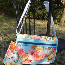 Nwt Lesportsac Basic Camera Bag W/ Matching Pouch in Spring Rose  Photo