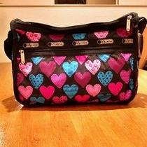 Nwt Lesportsac Deluxe Everyday Bag Cross My Heart Photo