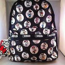 Nwt Lesportsac Disney Celebrate Minnie Basic Backpack Photo