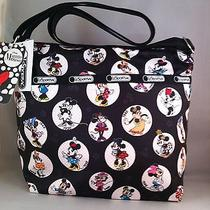 Nwt Lesportsac Disney Celebrate Minnie Cleo Crossbody Bag Photo