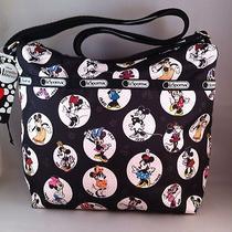 Nwt Lesportsac Disney Celebrate Minnie Cleo Crossbody Bag Photo