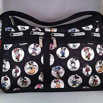 Nwt Lesportsac Disney Celebrate Minnie Deluxe Everyday Bag Photo