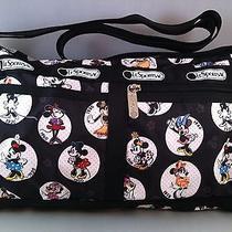 Nwt Lesportsac Disney Celebrate Minnie Deluxe Shoulder Satchel Photo