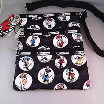 Nwt Lesportsac Disney Celebrate Minnie Kasey Bag Photo