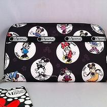 Nwt Lesportsac Disney Celebrate Minnie Lily Wallet Photo