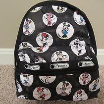Nwt Lesportsac Disney Celebrate Minnie Mini Backpack  Photo
