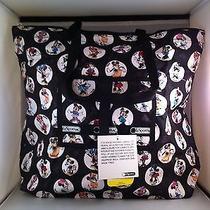 Nwt Lesportsac Disney Celebrate Minnie Ziptop Rollup Tote Bag Photo