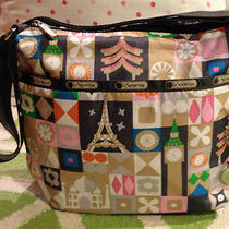 Nwt Lesportsac Disney Global Journey Small Cleo W Charm Crossbody Photo