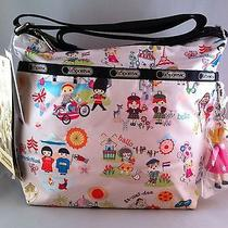 Nwt Lesportsac Disney It's a Small World Cleo Crossbody Bag Photo