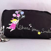 Nwt Lesportsac Disney It's a Small World Floating Dreams Cosmetic Bag Photo