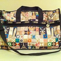 Nwt Lesportsac Disney It's a Small World Large Weekender Global Journey Photo