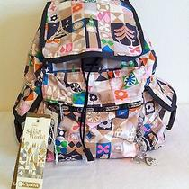 Nwt Lesportsac Disney's It's a Small World Global Journey Voyager Backpack  Photo
