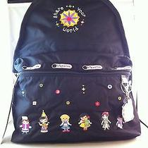 Nwt Lesportsac Disney's It's a Small World of Laughter Basic Backpack  Photo