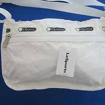 Nwt Lesportsac Handbag Basic Camera White Photo