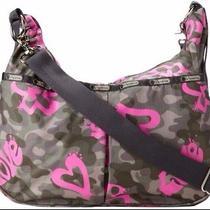 Nwt Lesportsac Jessie Baby Bag in Modern Love  Photo