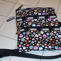 Nwt Lesportsac Kasey  Pop Heart  Crossbody  Adorable Photo