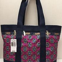 Nwt Lesportsac Medium Travel Tote Bag Duffel Elevate 82 Photo