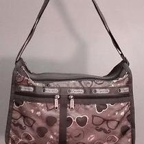 Nwt Lesportsac Multi-Color Deluxe Everyday Bag in Dolce Vita Print   Photo