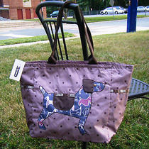 Nwt Lesportsac Picture Tote - Dog Tote Photo