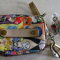Nwt Lesportsac Pirate Portatelefono Cell Phone Case Wristlet With Qee 9530 Photo
