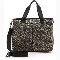 Nwt Lesportsac Ryan Baby Bag - Army Cheetah Msrp 138.00 Photo