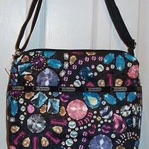 Nwt Lesportsac Small Cleo Crossbody  Crystalized  Cute Cute Bag Photo