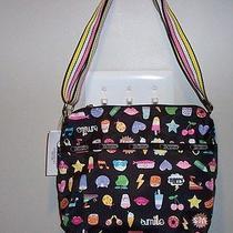 Nwt Lesportsac Small Cleo Crossbody  Finders Keepers  Cute Cute Bag Photo