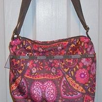 Nwt Lesportsac Small Cleo Crossbody  Flower Child  Cute Cute Bag Photo