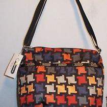 Nwt Lesportsac Small Cleo Crossbody  Replay  Cute Cute Bag Photo
