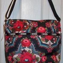 Nwt Lesportsac Small Cleo Crossbody  Romanian Rose  Cute Cute Bag Photo