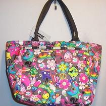 Nwt Lesportsac Small  Everygirl Tote Bag Hippie Daze Free Shipping Photo