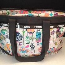 Nwt Lesportsac Travel Tote Lanterns Multi-Color Shopper Shoulder/diaper Bag Photo